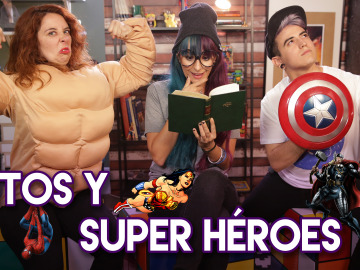 Mitos y Super héroes