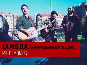 La M.O.D.A. - Mil demonios - Sesiones Ligeras