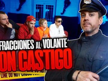INFRACCIONES AL VOLANTE CON CASTIGO