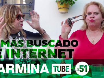Carmina Barrios adivina lo más buscado de Internet