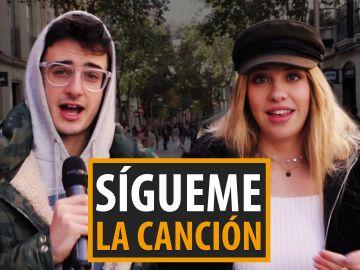 Ricky Edit y Anita Matamoros ponen a prueba los conocimientos musicales de la gente
