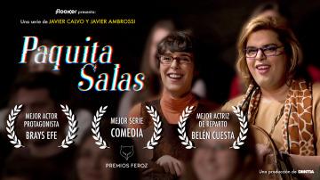 Paquita Salas - Promo de Paquita Salas con los Premios Feroz