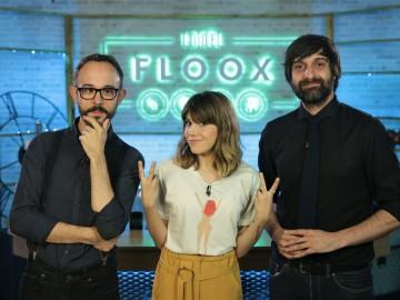 Angy visita 'Lo del Floox Show'