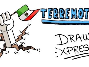 Tik Tak Draw - ¿POR QUÉ SE PRODUCE UN TERREMOTO? | DrawXpress #FuerzaMéxico | Drawing About