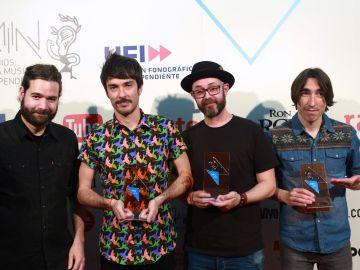 Vetusta Morla es el grupo más premiado de la historia de los Premios MIN
