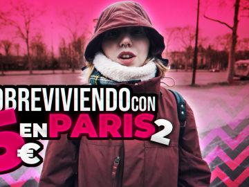 Neus Snow intenta sobrevivir en París con 5 euros