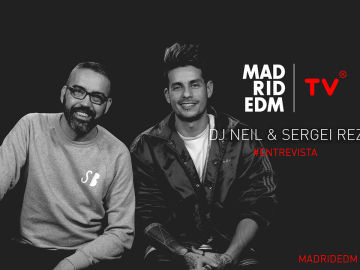 DJ Neil entrevista a SERGEI REZ en Madrid EDM