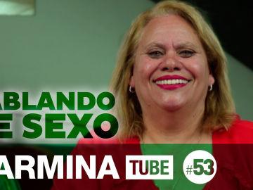 Carmina Barrios habla de sexo en CarminaTube